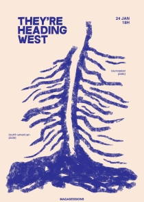 cartaz They're Heading West 24 Jan '16