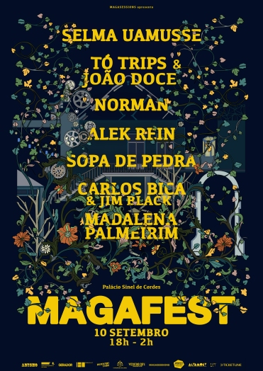 Cartaz MAGAFEST 2016 ▲▼◆